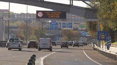 Carmena planea limitar la velocidad en toda la M-30 a 70 km/h a partir de 2017