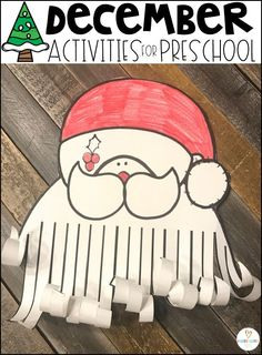 Are you looking for fun Christmas activities for preschool and simple thematic centers that you can prep quickly for your preschool classroom? Fun Christmas Activities, Preschool Christmas, Christmas Fun, Toddler Christmas, Art Therapy Activities, Literacy Activities, Activities For Kids, Kindergarten Lessons, Preschool Kindergarten