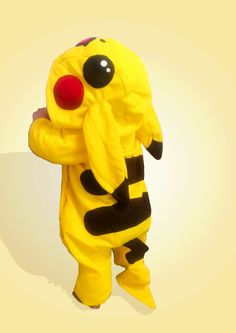 Pikachu baby costume onesie Halloween