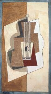 Guitar - Pablo Picasso - The Athenaeum