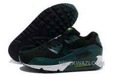 http://www.nikekwazi.com/nike-air-max-90-em-mens-2014-black-dark-green.html NIKE AIR MAX 90 EM MENS 2014 BLACK DARK GREEN Only $83.00 , Free Shipping!