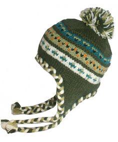 534f1310221 1401 Unisex Crochet Wool Knit Wool Hat OR Mitten OR Folding Mitten Hat Green  CN12NRUOXWM. Hats   Caps