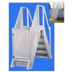 above ground pool ladders steps and entry systems above ground pools experts