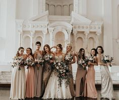 For real? Infatuated by @emmahopp photography and this bridal squad ✨