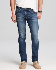 Ag Jeans - Matchbox Slim Fit in 10 Years Hollow