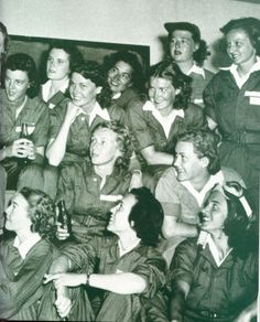 """""""Yankee Doodle Gals"""" Women who flew during WWII. Brains, Beauty and GUTS!"""