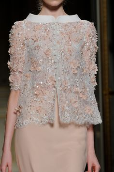 Georges Hobeika at Couture Spring 2013 (Details)