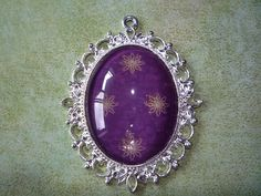 """Purple Star Pendant 2 1/2"""" by 2"""" by ForeverCreateDesigns on Etsy"""
