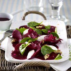 Rote-Bete-Salat mit Ziegenfrischkäse Rezept   LECKER