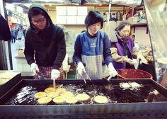 Seoul street food pojangmacha