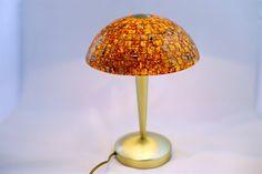 Night lamp (sensor) - amber mosaic