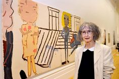 Rose Wylie, winner of the John Moores Painting Prize 2014. http://www.liverpoolmuseums.org.uk/rosewylie