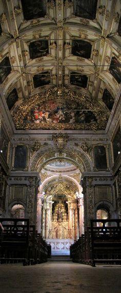 Igreja do Convento da Madre de Deus, no atual Museu Nacional do Azulejo.