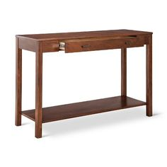 Freeman Console Table Dark Brown : Target