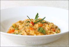 Risotto de Frango com Legumes ~ PANELATERAPIA - Blog de Culinária, Gastronomia e Receitas