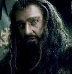 Richard Armitage as Thorin Oakenshield in The Hobbit Trilogy Hobbit 3, The Hobbit Movies, Rr Tolkien, Tolkien Books, Ian Holm, Thorin Oakenshield, Aragorn, Young Prince, Lotr
