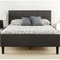 Found it at Wayfair - Upholstered Platform Bed