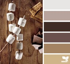 s'more tones Color Palette by Design Seeds Colour Pallette, Color Palate, Colour Schemes, Color Combos, Pantone, Design Seeds, Colour Board, Color Swatches, Color Theory