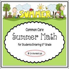 1000 images about summer on pinterest math 5th grades. Black Bedroom Furniture Sets. Home Design Ideas