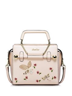 Pink Zipper Casual PU Tote.  More fabulous hardware; too bad it's PU and not real leather.