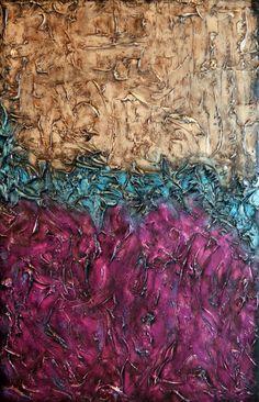 Layaway Available 33x23x1.5 Original Modern Textured by AlishasArt, $200.00