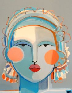Home And Decore Ideas Again I live whimsical art! Cant help myself! Again I live whimsical art! Cant help myself! Art Inspo, Painting Inspiration, Abstract Faces, Abstract Art, Abstract Paintings, Art Paintings, Painting Art, Watercolor Painting, Landscape Paintings