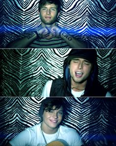 "Emblem3 - i just listened to their song ""Chloe"" and loved it!! this is my favorite parts of the video of them"