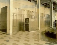 A Woodward Governor Company Cabinet Actuator system at the Claytor hydroelectric Power Plant and Dam.