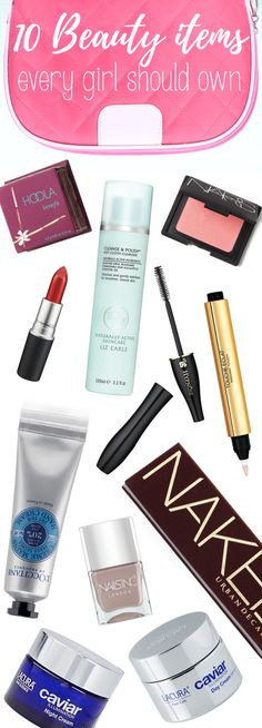 Like to look your best? Take note of our 'Ten Beauty Items Every Girl Should…