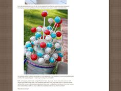 Cake Pops 101: Tips, Tricks & Great Ideas on how to display your cake pops! | niner bakes