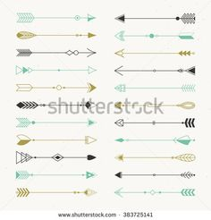 Geometric Arrows Stock Photos, Images, & Pictures | Shutterstock