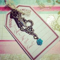 Evally Lock and Key Family Necklace