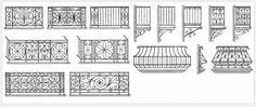Balcons en fer forgé par un artisan d'expérience Balcon Juliette, Interior Railings, French Apartment, Balustrades, Iron Windows, Grill Design, Gold Ornaments, Balcony Design, Window Boxes