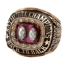 1994-95 LAWRENCE PHILLIPS NEBRASKA NATIONAL CHAMPIONSHIP RING.....beautiful ring