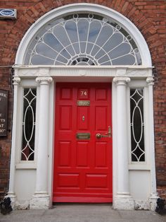 I Just Want A Red Front Door On My Future House. Not Too Much To