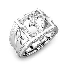 Rudra OM Diamond Ring