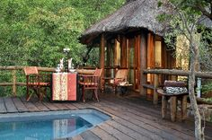 Interesting places to stay in South Africa. Makweti Safari Lodge - At Makweti Safari Lodge you will find an outdoor swimming pool, and guests can relax on the lodge's open lounge and viewing deck, 74 m from the stream-fed waterhole. Outdoor Swimming Pool, Swimming Pools, Safari Photo, Private Safari, Road Trip, Game Lodge, Private Games, Game Reserve, Welcome Decor