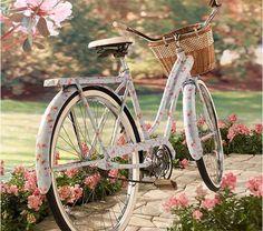 #Bicycle #rose