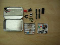Altoids Tin Electronics Lab