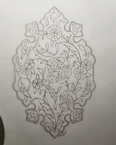 Hand Embroidery Designs, Embroidery Patterns, Pattern Art, Pattern Design, Ancient Art, Islamic Art, Art Forms, Adult Coloring, Projects To Try