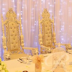 Manufacturer & Exporters of Wedding Throne Chairs in India. Shree Ganesh Exports offering fine quality Wedding Throne Chairs at Affordable Price. Royalty Wedding Theme, Wedding Themes, Wedding Ideas, Wedding Stuff, Reception Design, Reception Decorations, Lion King Wedding, Egyptian Wedding, Queens Wedding