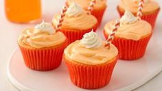 Two-Ingredient Soda Pop Cupcakes ...use gluten-free Betty Crocker cake mix