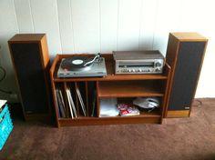 record player set up idea #1