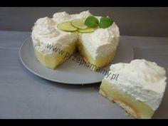 Bajeczne ciacho do popołudniowej kawy! Jak zrobić torcik limonka - YouTube Cheesecake, Cakes, Baking, Youtube, Cheese Cakes, Food Cakes, Bakken, Bread, Pastries