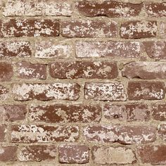 Brick Distressed Wallpaper