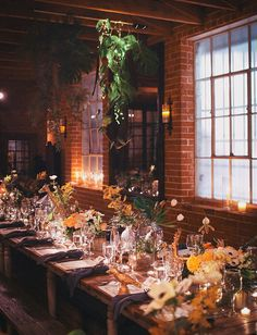 candlelit + eclectic, science reception