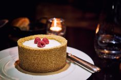 Legendary cheesecake ('the best this side of the pond') @ JW Marriott Steakhouse, Mayfair, London