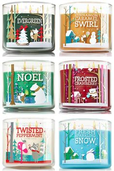 Bath Body Works Holiday Traditions Candles Holiday 2014