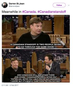 """""""What are your Canada Day resolutions? Mine is I'm sorry."""""""