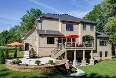 DH Custom Homes, custom Pendleton in Chesterfield, MO #exterior #customhome #homedesign